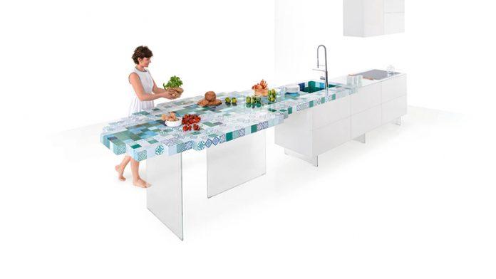 la cucina MadeTerraneo di Daniele Lago per l'azienda di famiglia